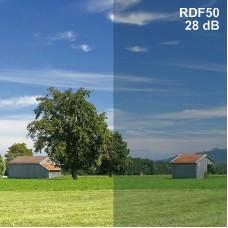 HF / film pour fenêtres RDF50 standard / cm Largeur 152/1 mètre linéaire